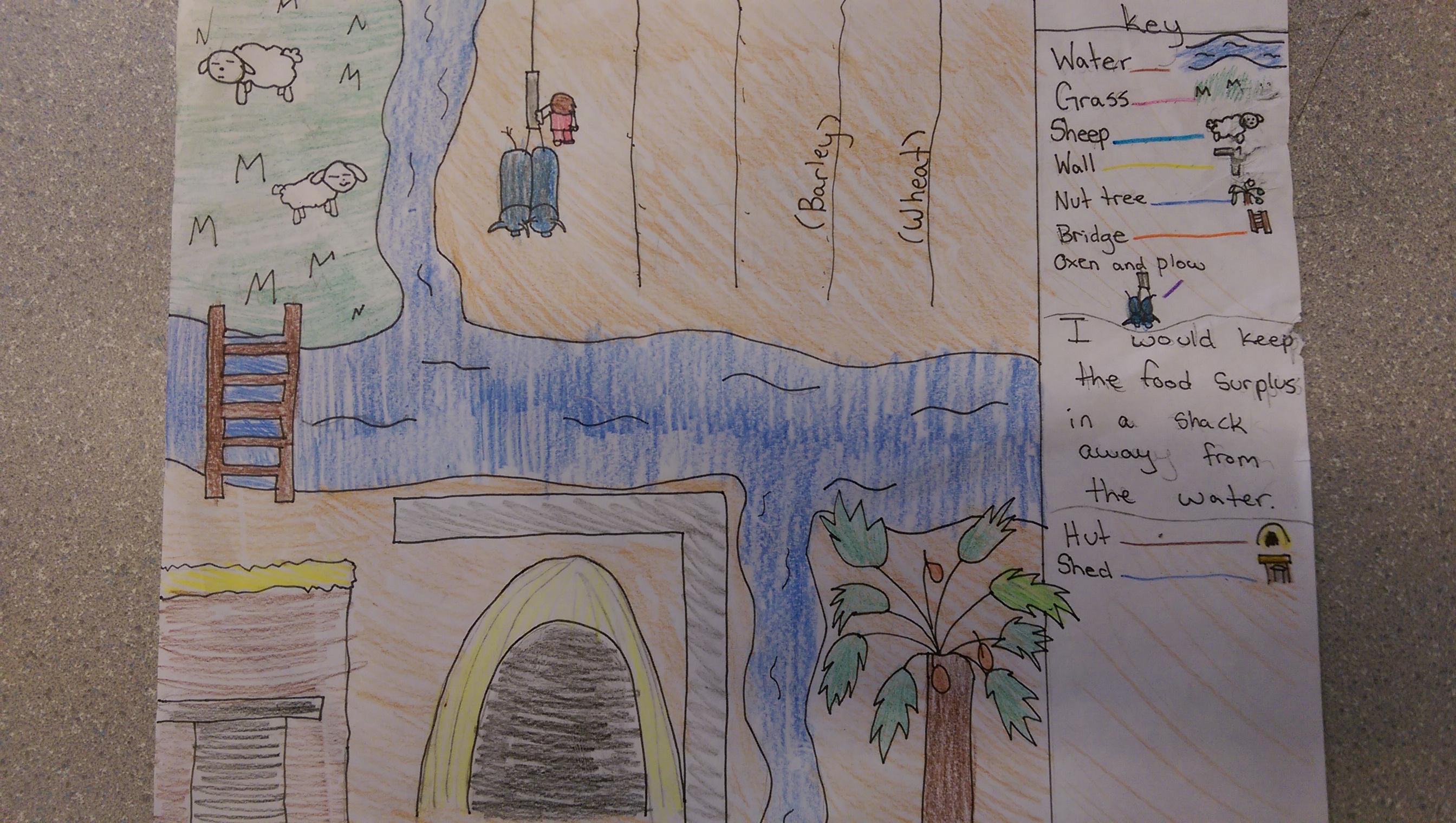 Mesopotamia Interactive Notebook Student Work