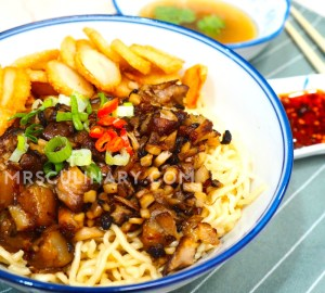 Mie Babi Kecap by Mrs. Culinary