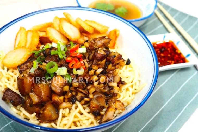 Mie Babi Kecap by Mrs. Culinary