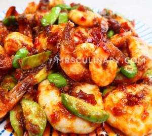 Resep Udang Balado Pete by Mrs. Culinary