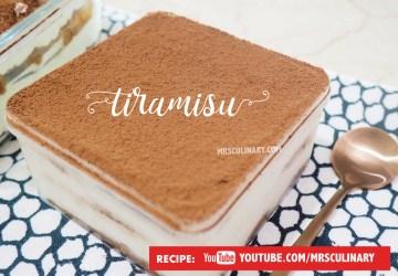 Cara membuat Tiramisu by Mrs Culinary