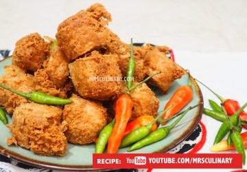 Cara membuat Tahu Goreng by Mrs Culinary