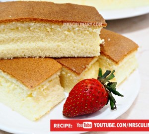 Resep Kue bolu super lembut by Mrs Culinary