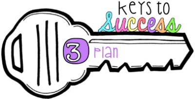 The third key to success is planning.