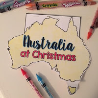 Christmas around the World in Australia free resource