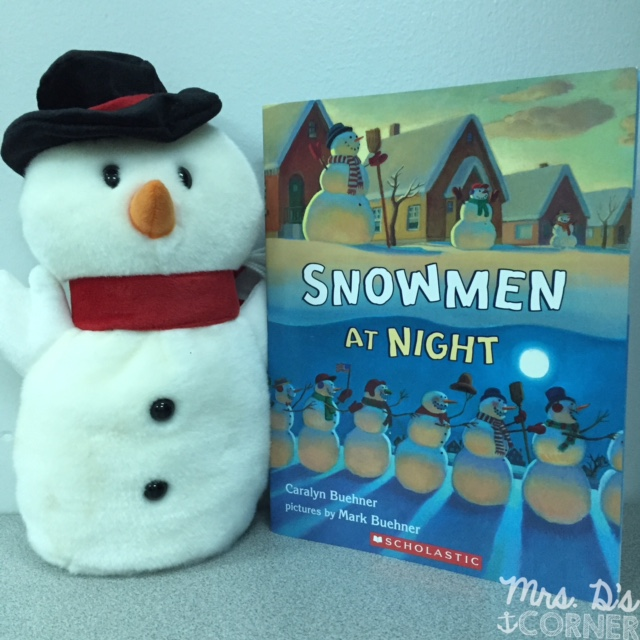 Snowmen at Night is a great read aloud to use during the winter months. Use the story with Snowmen at Christmas for a great compare and contrast lesson. Free graphic organizer included, along with lesson plans and extensions to go with Snowmen at Night. Blog post at Mrs. D's Corner.
