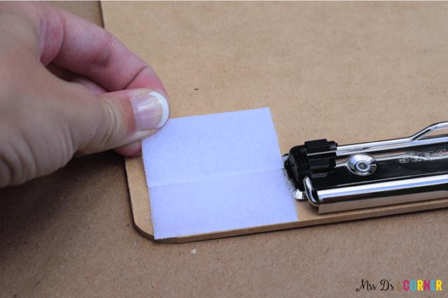 DIY timer clipboard