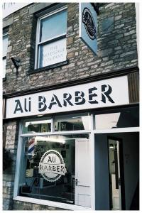 Ali Barber Shop Window