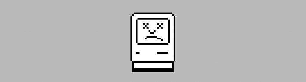 crashed mac icon