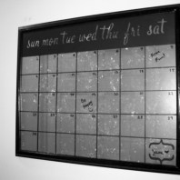 Spray Paint Calendar
