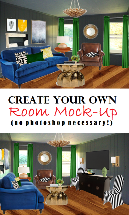 create your own room mock-up free no photoshop