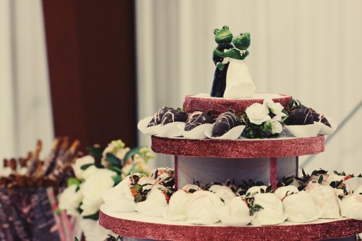 Chocolate Covered Strawberry Tower | Mrs. Fancee