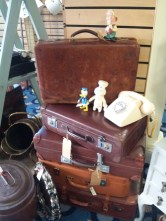Suitcase's and Disney piece - of course I liked this.