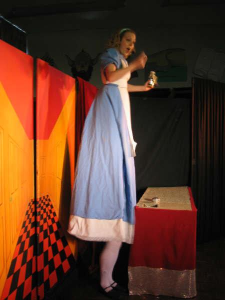 Me as Alice in Wonderland