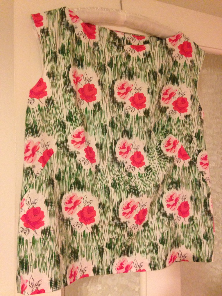 My first sewing project