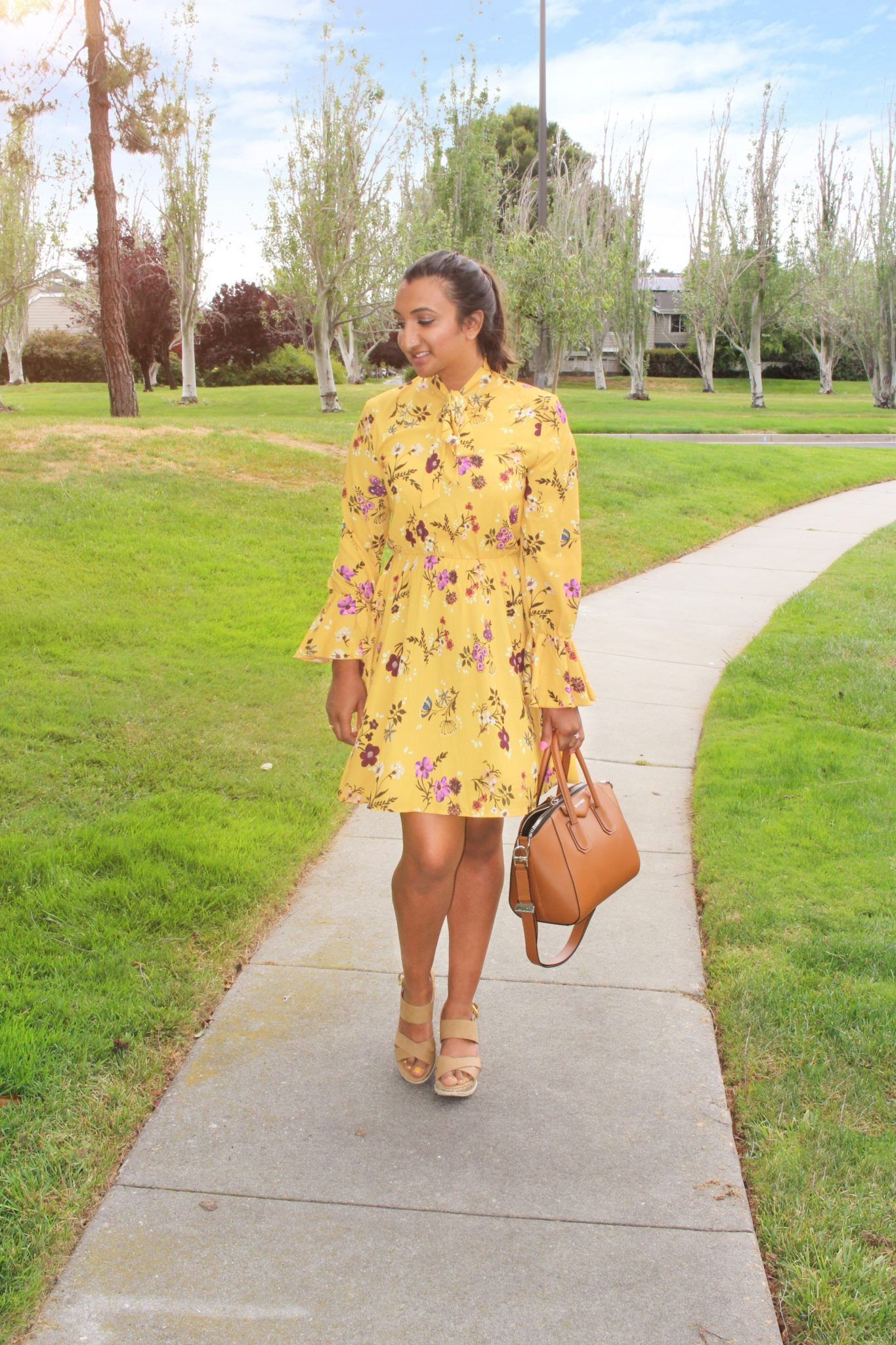 4d38e4801c41d0 Cute Yellow Floral Dresses | Huston Fislar Photography