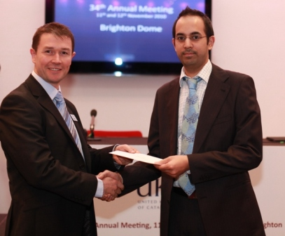 Mr Shah was awarded the prize for best refractive surgery paper at the UKISCRS Conference (UK & Ireland Society of Cataract and Refractive Surgeons) on 12th November 2010