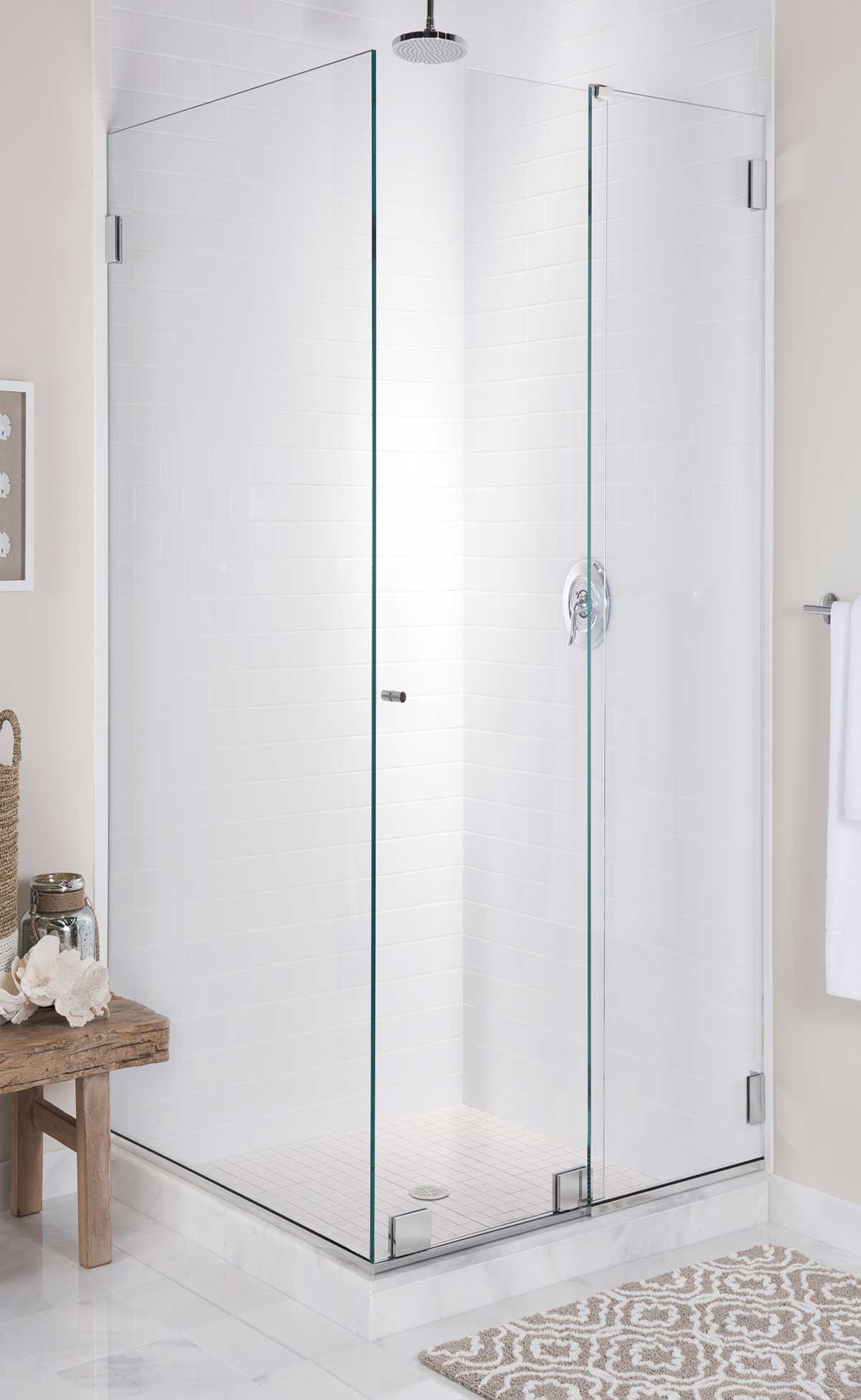 Vanquet 90 Frameless Sliding Enclosure Mr Shower Door