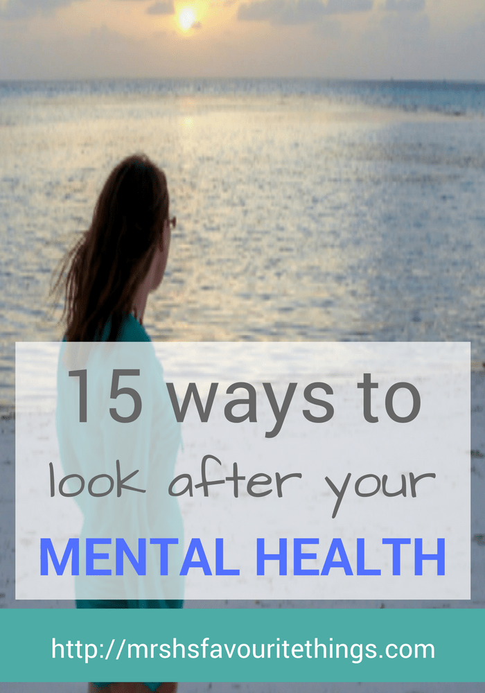 I don't look after myself and as a result my mental health suffers. Recently my depression and anxiety have become bad. As a result, I decided to be proactive. And to put in place some rules for looking after myself. So here is my action plan and also 15 ways that you can also look after your mental health.