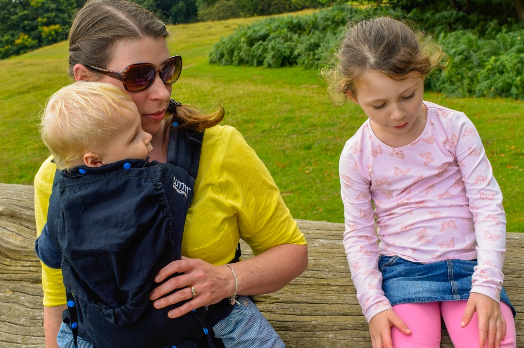 edf1fdbf117 Pao Papoose by We Made Me - A review of the 3 in 1 front and back baby  carrier - Mrs H s favourite things