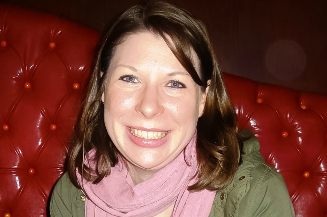 A photograph of a brunette girl smiling and happy and on holiday - Antidepressants and Me - My Story of Taking Antidepressants - Mrs H's favourite things