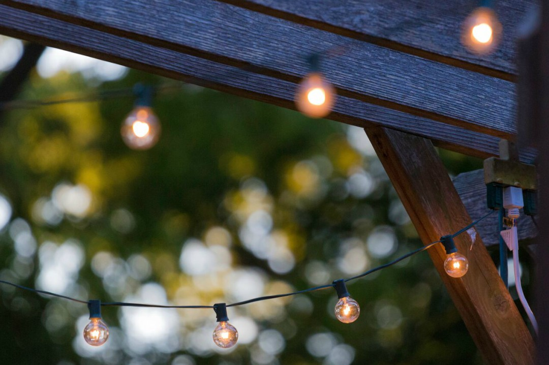 A photograph of some outside house lights - Home Improvement Ideas For The Family Home - Mrs H's favourite things