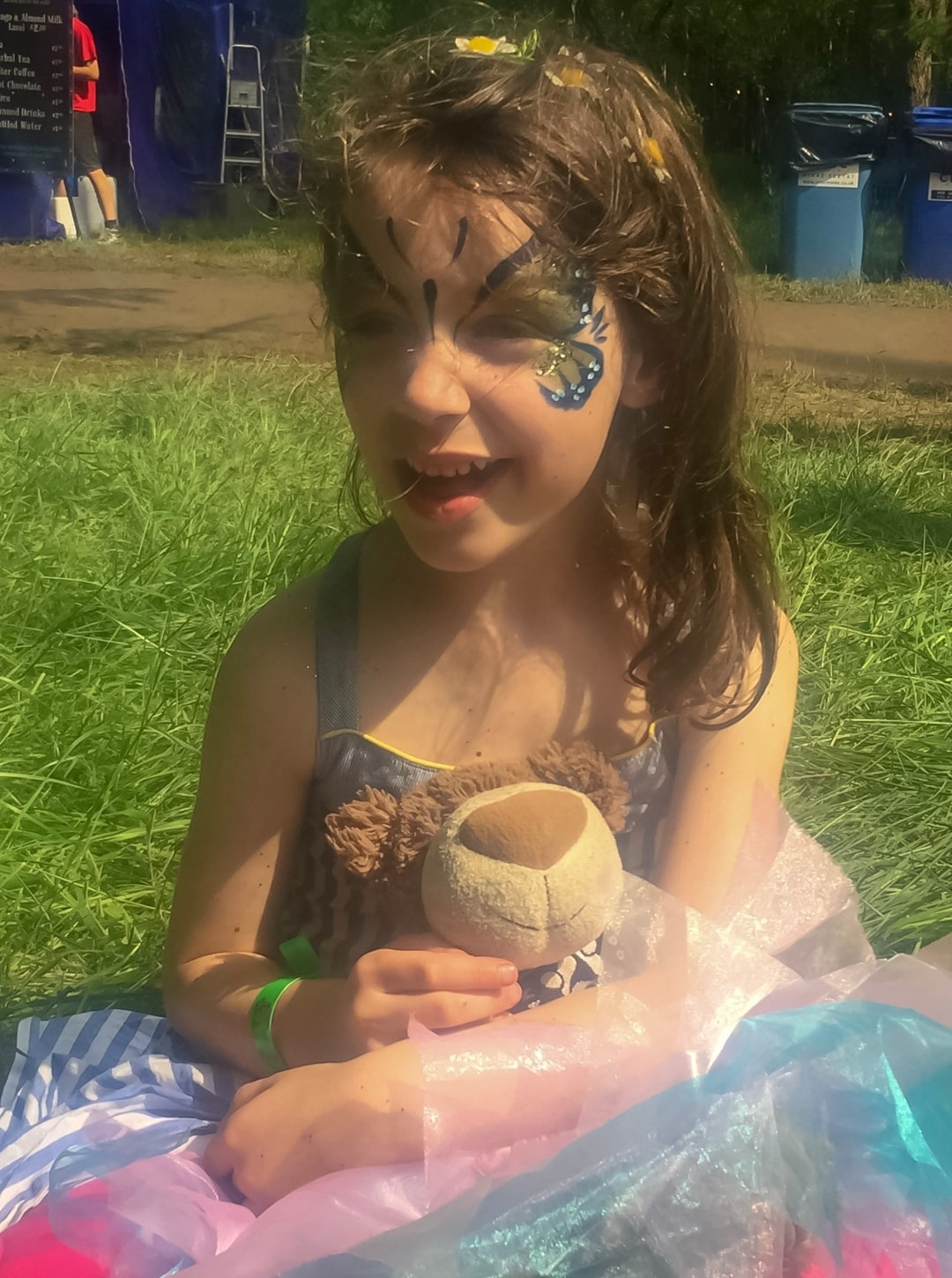 A photograph from our stay at the family festival Elderflower Fields - Our First Family Festival and Our Festival Essentials - Mrs h's favourite things