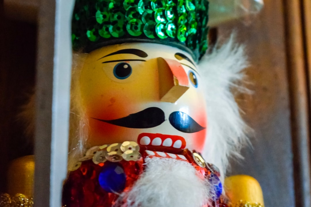 A photograph of a Nutcracker Christmas decoration - The Christmas Tag - Mrs H's favourite things