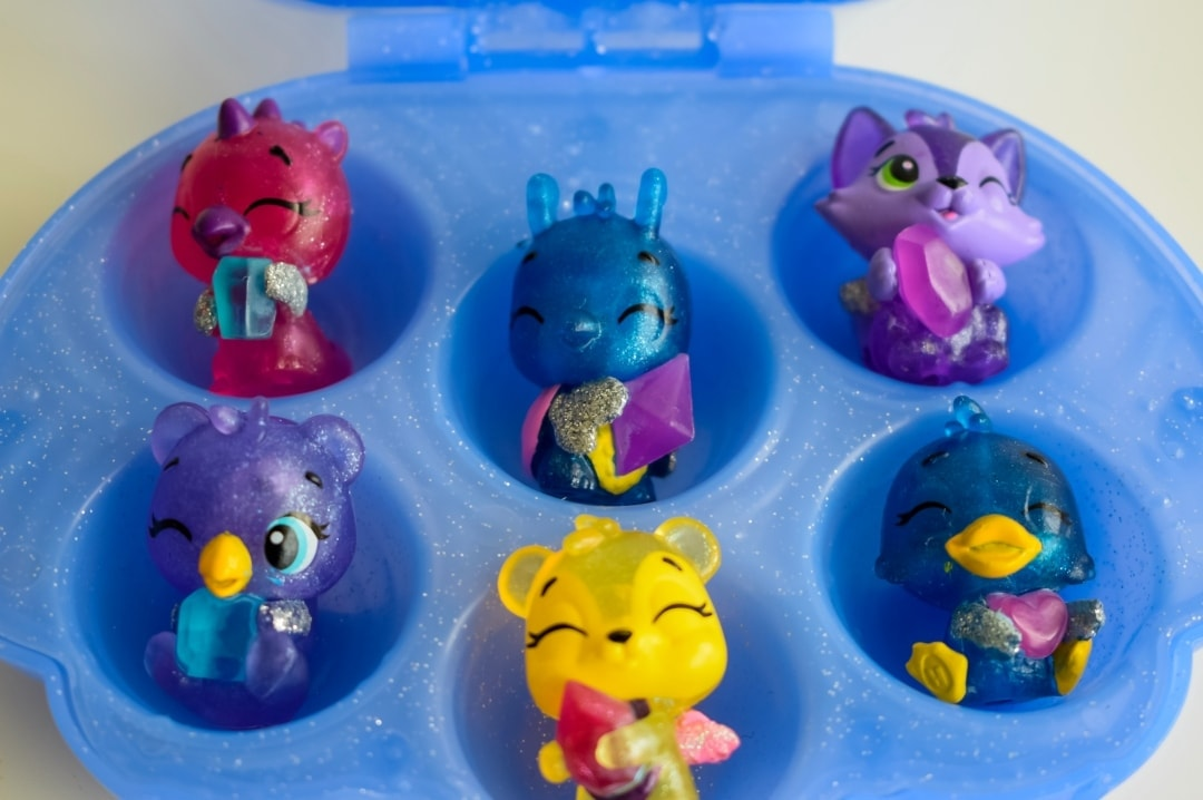 A photograph of the six underwater characters from Sapphire Springs from season 5 of Hatchimals CollEGGtibles Mermal Magic - Hatchimals CollEGGtibles Mermal Magic Season 5 Review - Mrs H's favourite things