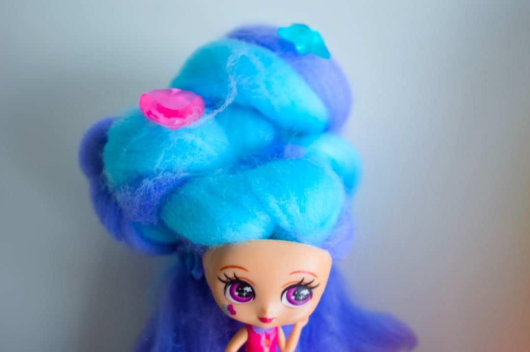A photograph of Kelly Bean, a Candylocks Doll - Introducing Candylocks Dolls - A Review - Mrs H's favourite things