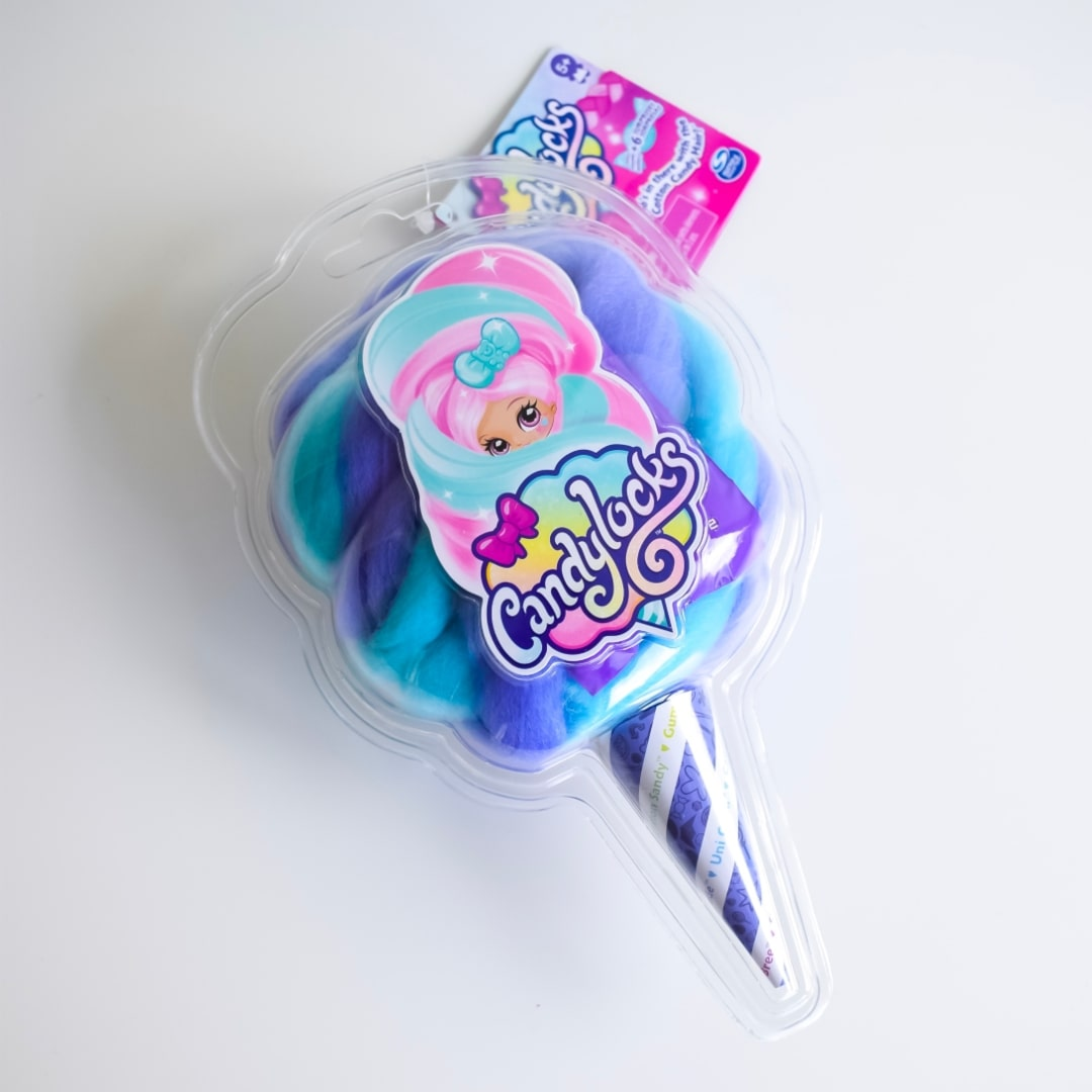 A photograph of the Candylocks Surprise Collectible Doll packaging - Introducing Candylocks Doll - A Review - Mrs H's favourite things