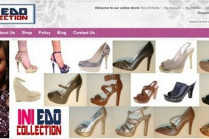 Ini Edo shoes collection
