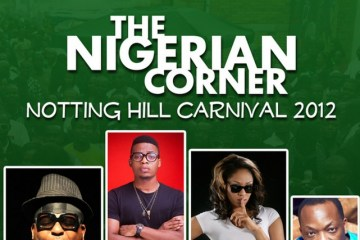 The Nigerian Corner at Notting Hill Carnival 2012