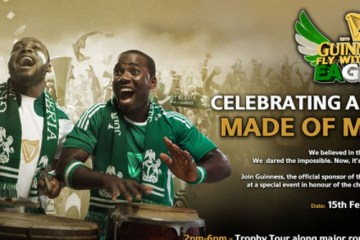 Guinness Nigeria celebrates Super Eagles
