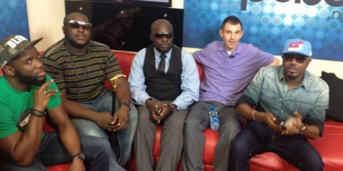 Pulse Nigeria press conference with Tim Westwood, Elajoe and others