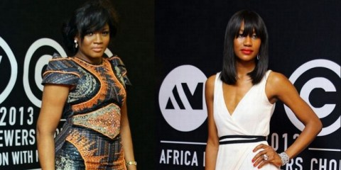 Africa Magic Viewers Choice Awards 2013 best dressed ladies