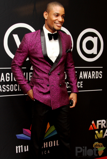 Alex Ekubo at AMVCA 2013