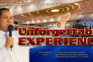 Christ Embassy Victoria Island Unforgettable Experience