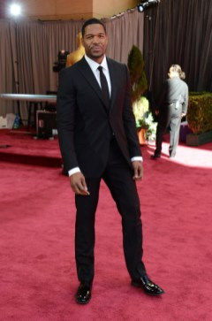 Michael Strahan in Calvin Klein at the Oscars 2013