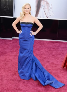 Reese Witherspoon in Louis Vuitton dress at the Oscars 2013