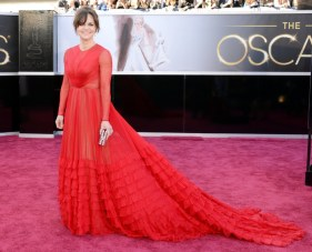 Sally Field in Valentino dress at the Oscars 2013