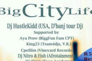 Team4djs & Pluto Entertainment Big City Life Event