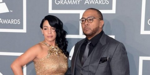 Timbaland and wife