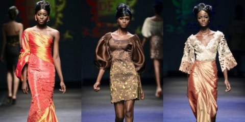 Deola Sagoe collection at MBFW 2012