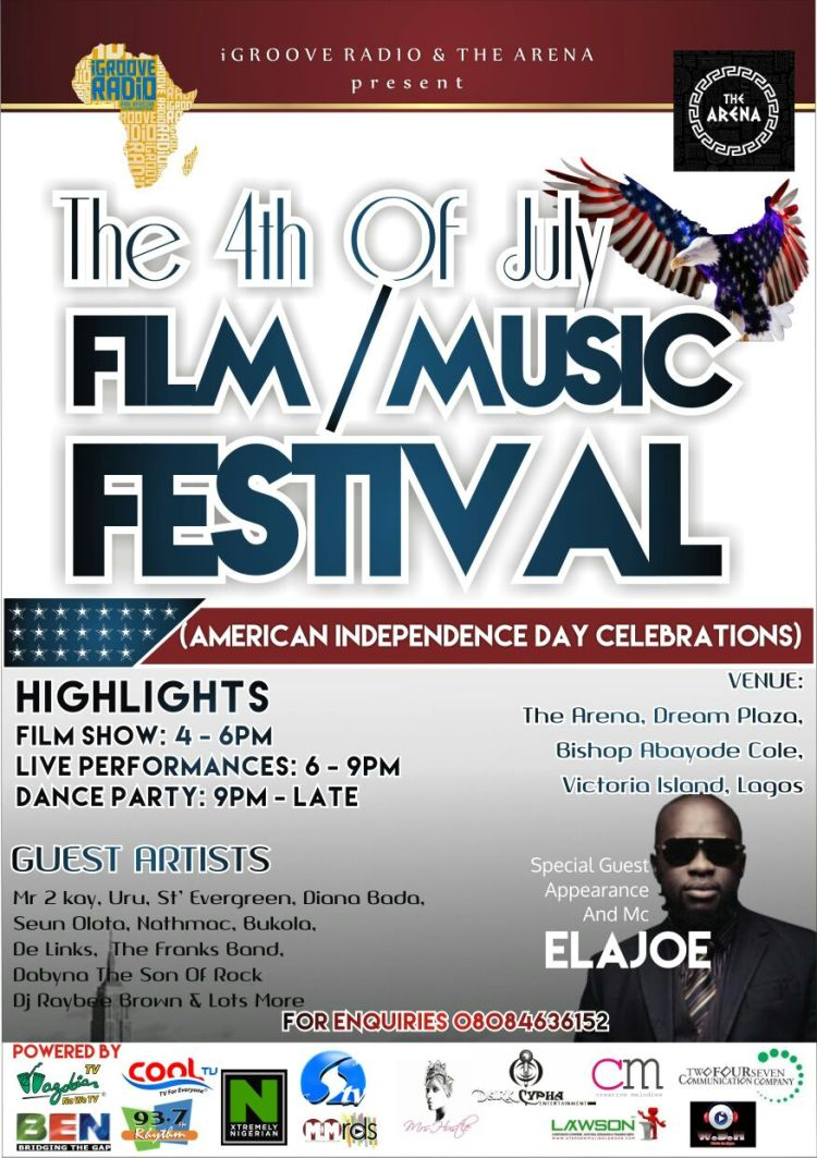 the 4th of july film music festival