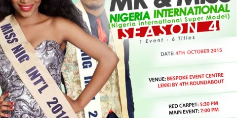 MR AND MISS NIGERIA INTERNATIONAL 2015