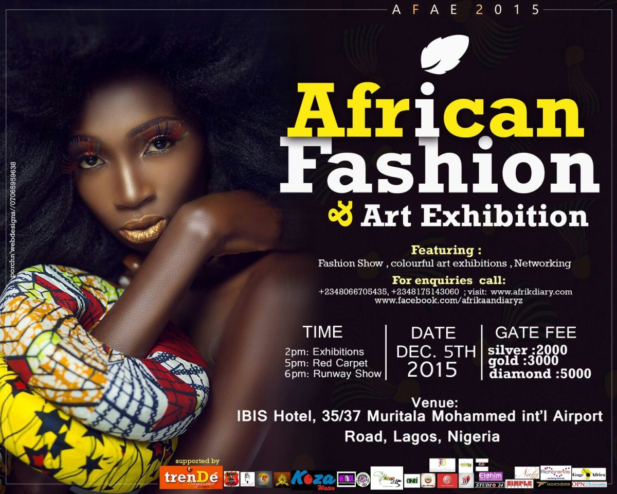 MH PRESENTS: AFRICAN FASHION & ART EXHIBITION 2015 #AFAE2015