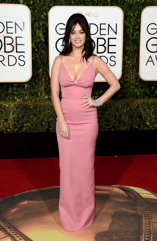 Katy Perry at Golden Globe Awards 2016
