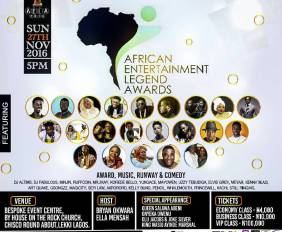 African Entertainment Legend Awards 2016