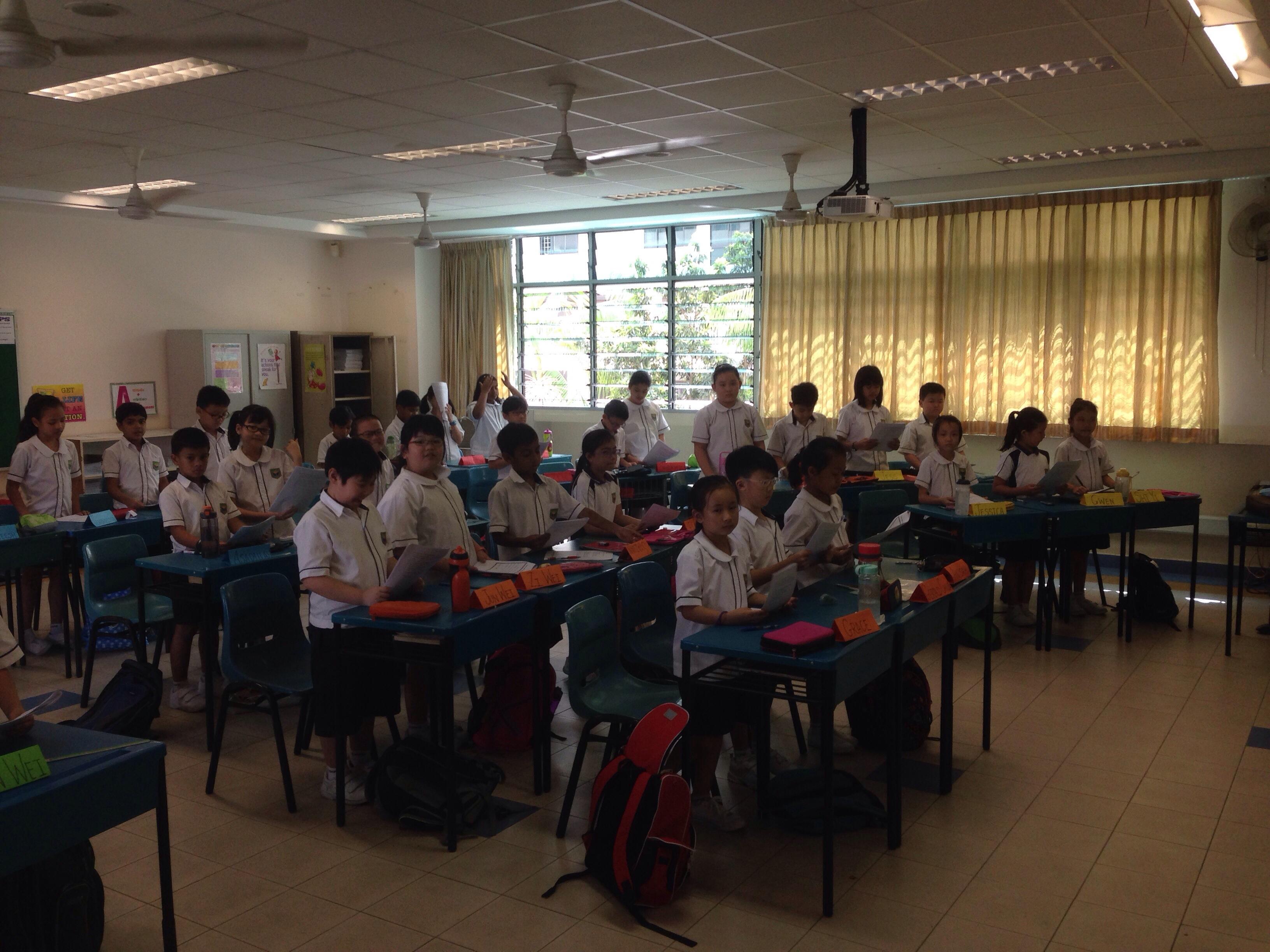 4 Discipline Classroom